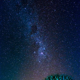 Milky Way - Hastings Point Northern NSW. by Terry James - Novices Only Landscapes
