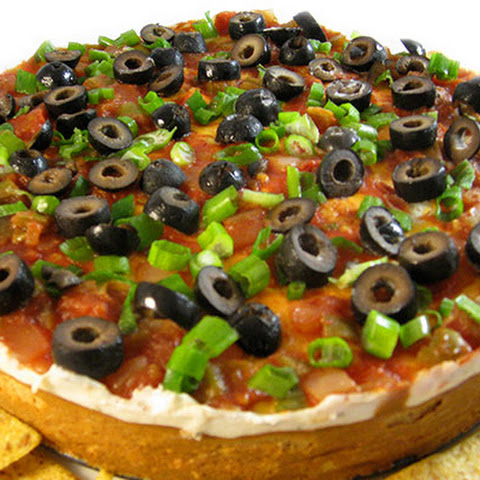 A Skinny and Very Decadent South of the Border Cheesecake Dip