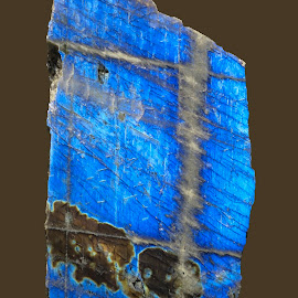 Labradorite by Dee Haun - Nature Up Close Rock & Stone ( 171017x0477rce1, rocks, museum, nature up close, laboradorite )