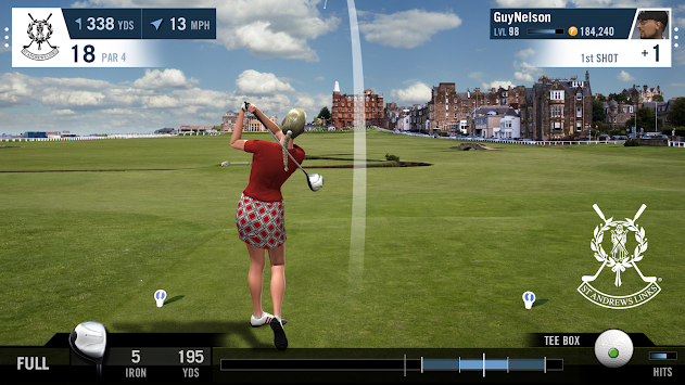 WGT Golf Mobile apk screenshot