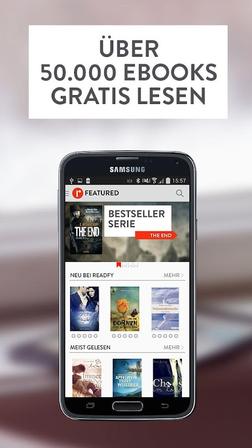 readfy - eBooks gratis lesen Screenshot