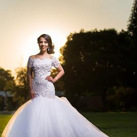 Bride by Lodewyk W Goosen (LWG Photo) - Wedding Bride ( wedding photography, wedding photograpers, wedding, brides, wedding dress, wedding photos, getting ready, wedding photographer, bride )