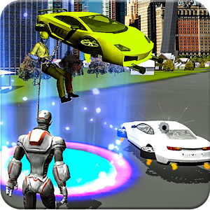 Flying super Car Simulator for PC-Windows 7,8,10 and Mac