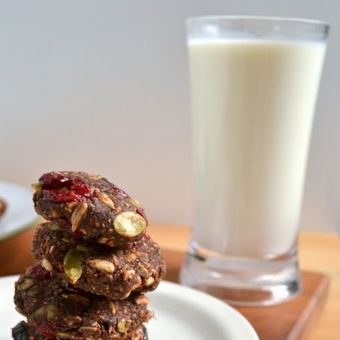 Raw Trail Mix Energy Cookies