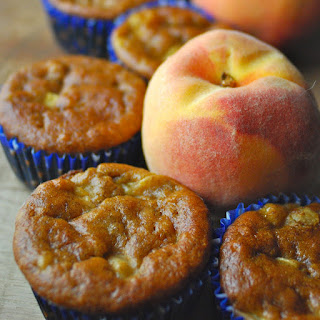 Peach Breakfast Muffins