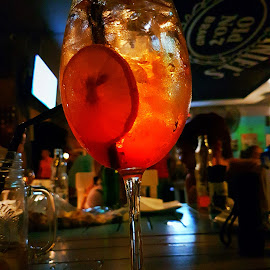 Brutal fruit by Hayley Moortele - Food & Drink Alcohol & Drinks ( #orange, #drinks, #alcohol, #wineglass, #bar )