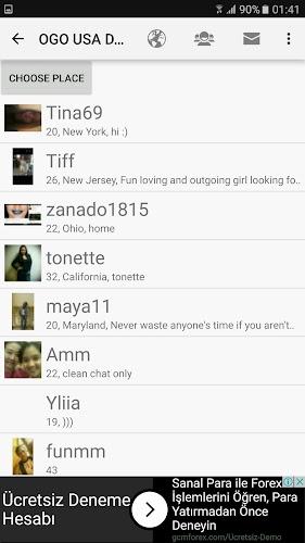 USA Dating Site   OGO Android App Screenshot     Similar Play App Stats