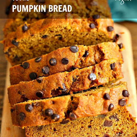 One Bowl Vegan Pumpkin Bread