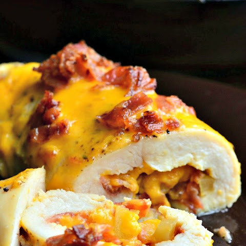 Apple Bacon Cheddar Stuffed Chicken