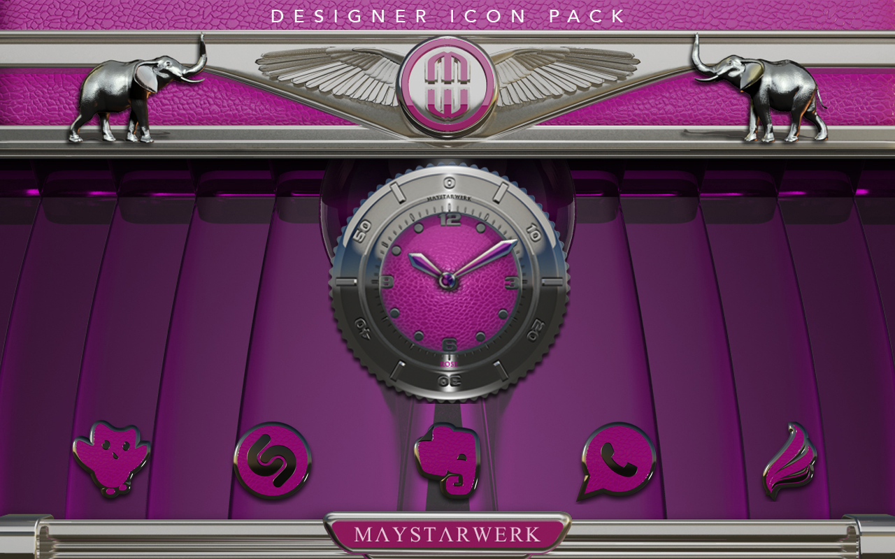 Pink E. HD Icon Pack Screenshot 8