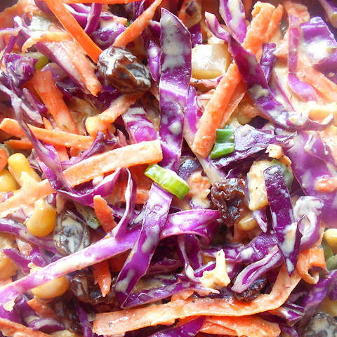 Make Coleslaw with Red Cabbage