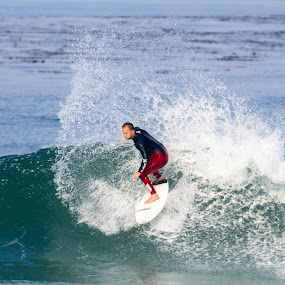 Professional Surfer: Pat O'Connell by Scott Welch - Sports & Fitness Surfing ( sports photographer, hurley, pato, orange county sports photographers, surfing, surfer, waves, scott welch, ocean, surf, pat oconnell )