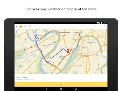 Download Android App Yandex.Maps for Samsung