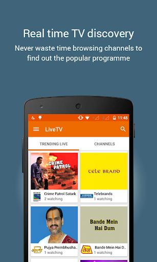 YuppTV - LiveTV Movies Shows IPL Live screenshot 2