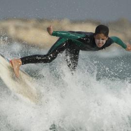Surfing by Yuval Shlomo - Sports & Fitness Surfing