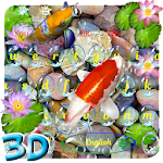 Live 3D Animated Koi Fish Keyboard Theme Icon