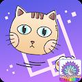 Colorfeel Cats APK for Bluestacks
