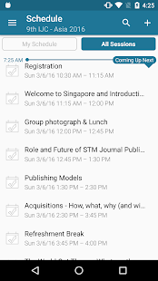 STM Events - screenshot