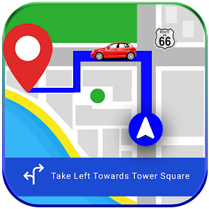 GPS, Maps, Navigations & Driving Directions For PC / Windows 7/8/10 / Mac – Free Download