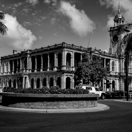 b&w old post office by Jason Day - Buildings & Architecture Office Buildings & Hotels