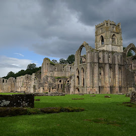 Fountains abbey by Andy Bertenshaw - Buildings & Architecture Public & Historical ( england, yorkshire, monastic, historic, fountains abbey, abbey )