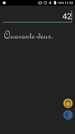 Nombre en lettres screenshot 1