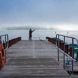 Fly Fishing by Crispin Lee - People Street & Candids