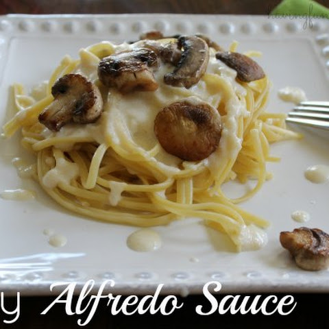 Easy Alfredo Sauce Recipe - Low-Fat Too!