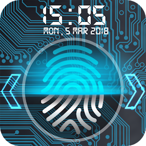 Fingerprint lock screen New App on Andriod - Use on PC