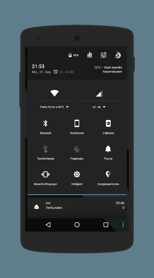 Euphoria Dark CM13 Donate Screenshot 0