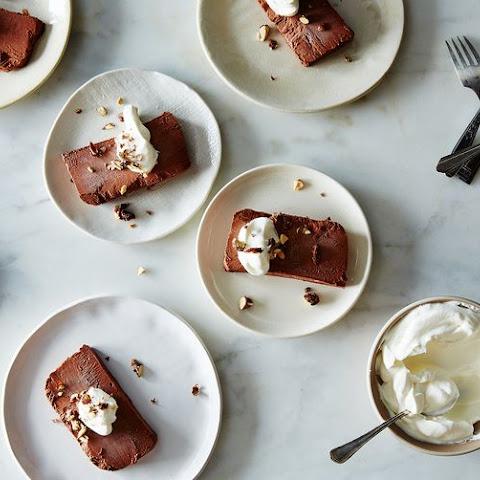 chocolate brandy sauce chocolate semifreddo with chocolate semifreddo ...