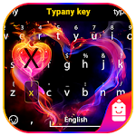 Love Heart Typany Keyboard Icon