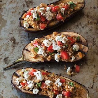 Tomato Stuffed Eggplant With Feta Recipes