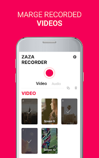 ZaZa Screen and Audio Recorder APK for Kindle Fire