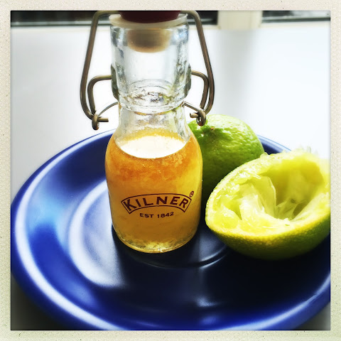 Lime And Ginger Salad Dressing