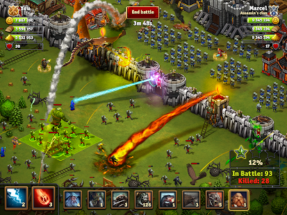 Throne Rush APK Descargar