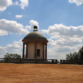 Heaton  park  bell  tower by Gordon Simpson - Buildings & Architecture Statues & Monuments