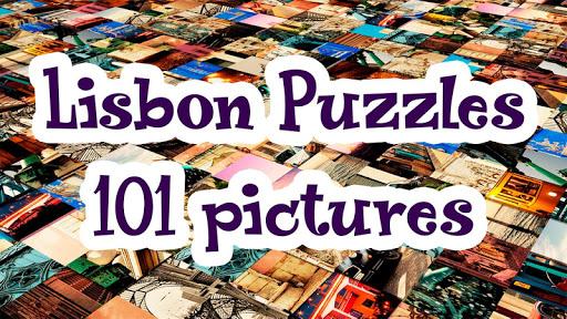 Lisbon Puzzles - 101 pictures screenshot 1