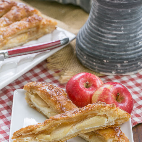Maple Glazed Apple Tart #Progressive Eats