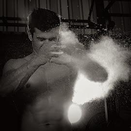 Power by Jasper Van Zyl - Sports & Fitness Fitness ( body, model, shoot, fitness, male )
