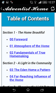 The Adventist Home- screenshot thumbnail
