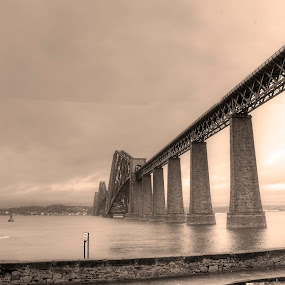 Victorian Bridge by Mark Holm - Buildings & Architecture Bridges & Suspended Structures ( forth, scotland, forth bridge, victorian, bridge )