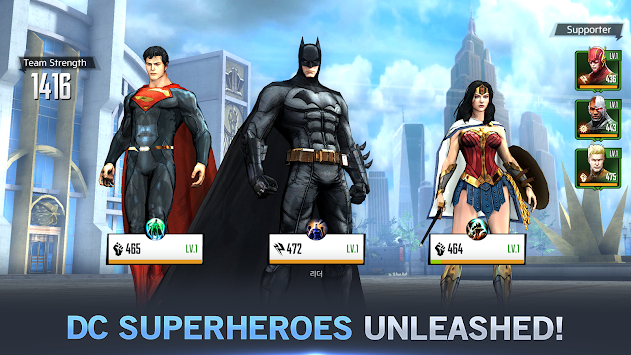 DC Unchained (Unreleased) APK screenshot thumbnail 12