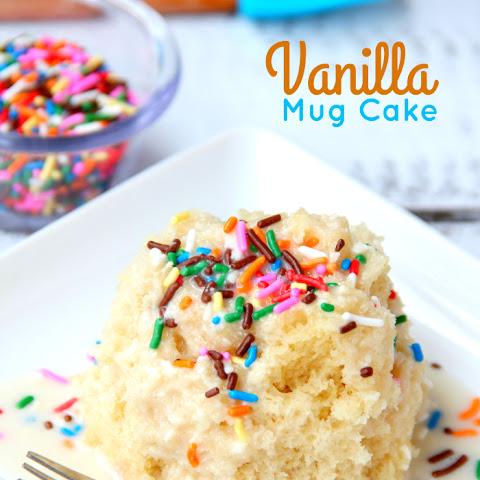 Easy Mug Cake No Vanilla Extract