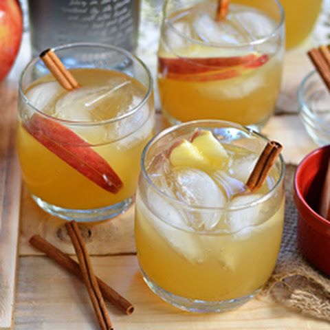 Spiced Coconut Rum & Apple Cider Cocktail