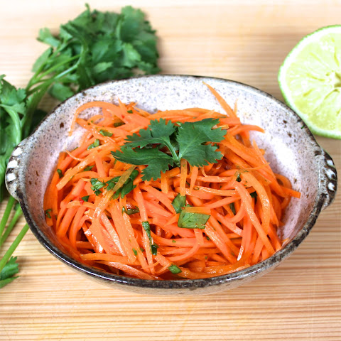Carrot and Cilantro Salad