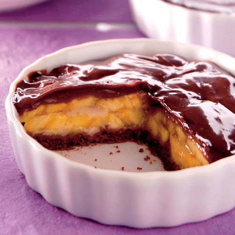 Chocolate Banana Custard Pie
