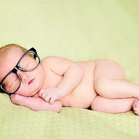 by Vanessa Brown - Babies & Children Babies ( nerd, girl, glasses )