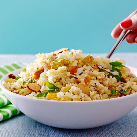 Cauliflower Rice Pilaf