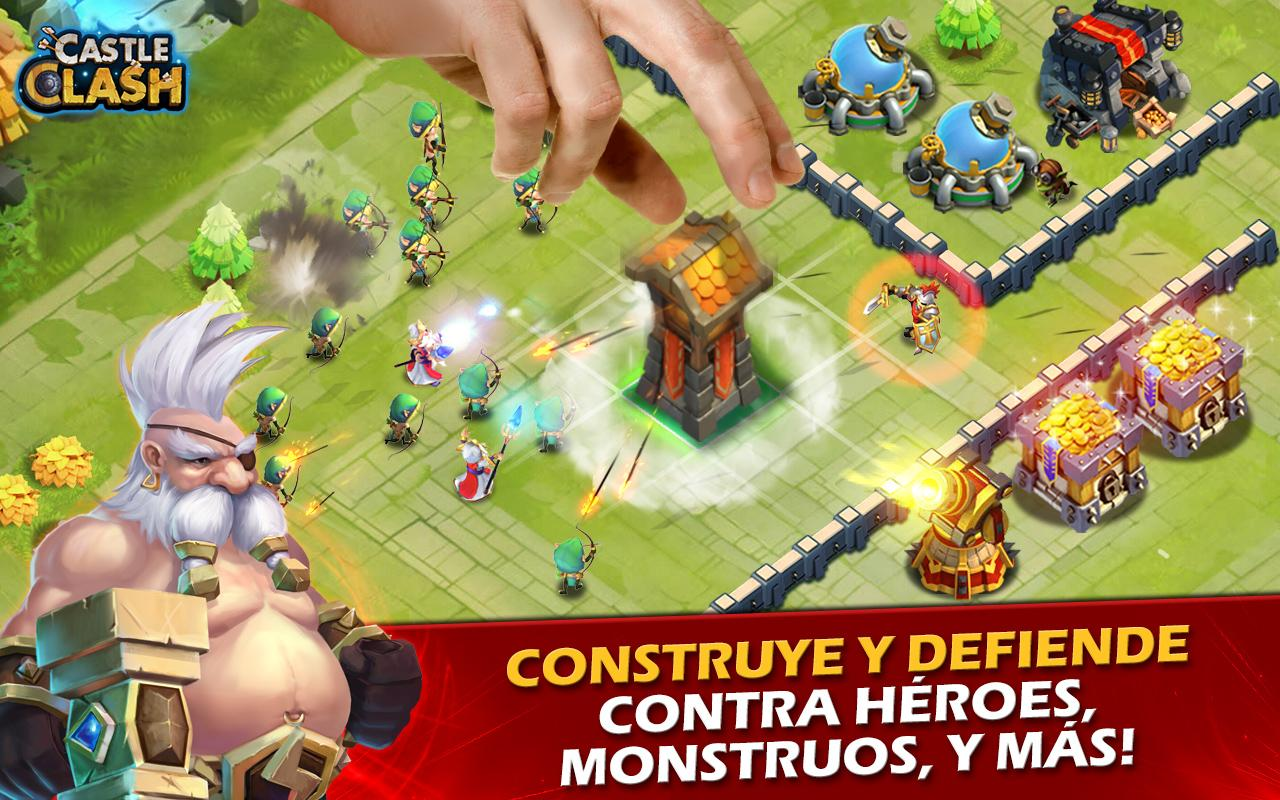 Castle Clash: Era de Leyendas Screenshot 1